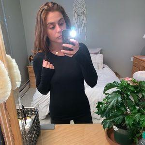 Black Mossimo Long Sleeve Shirt